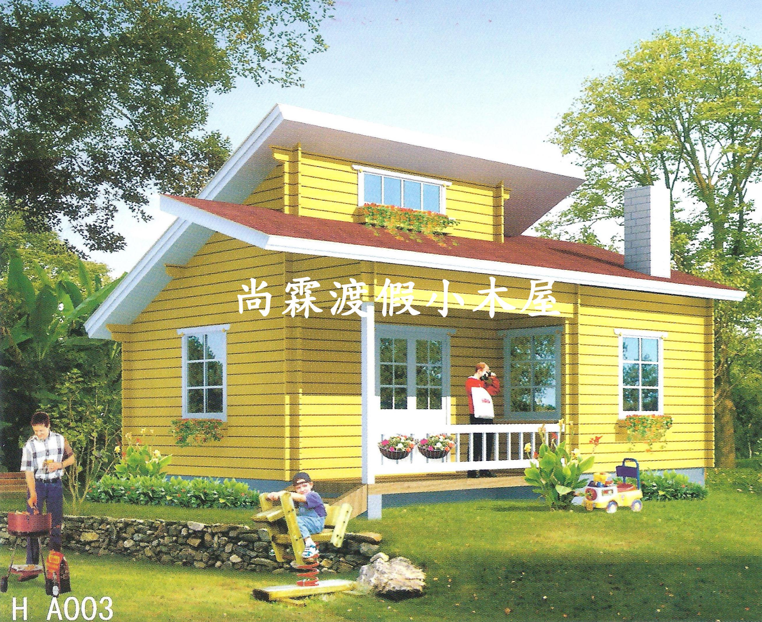 厨房及餐厅*1) 施 工 项 目: 价格含:运送,h钢基础,10人份化粪池,木屋